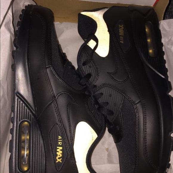 All Brands Air Max Gold Black Men's Air Max Air Max Nike Air